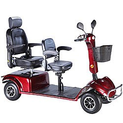 Hire this double mobility scooter in Tenerife